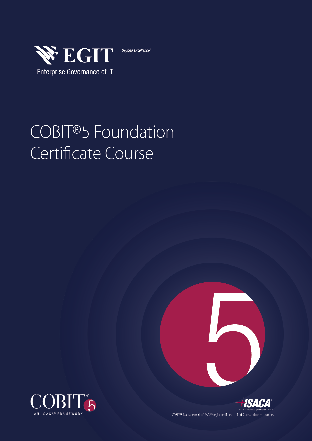 COBIT 5 Foundation Certificate Training Brochure2